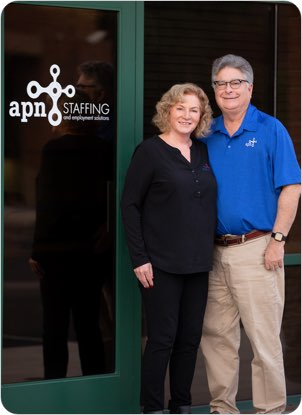 APN founders Kevin and Harriet